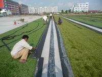 人造草坪球场铺装