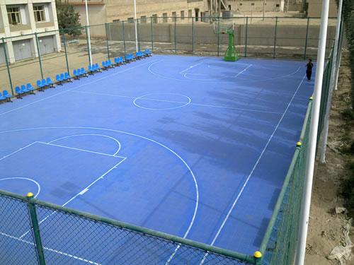 悬浮拼装地板篮球场