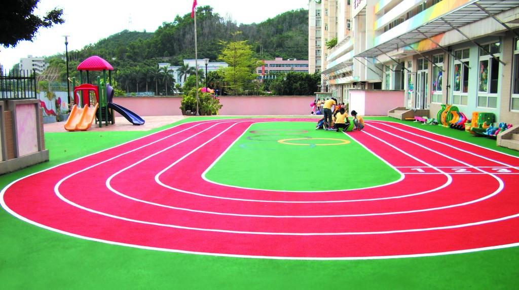 EPDM幼儿园运动场地跑道
